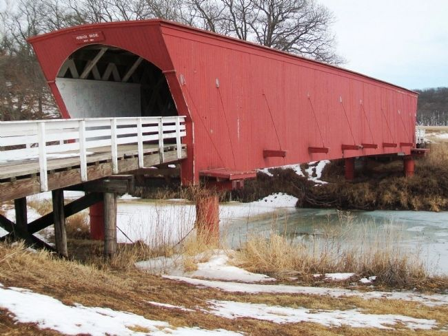 Hogback Covered Bridge image. Click for full size.