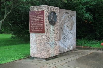 Tecumseh Memorial image. Click for full size.