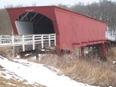 Roseman Covered Bridge image. Click for full size.