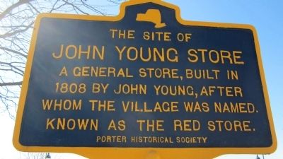John Young Store Marker image. Click for full size.