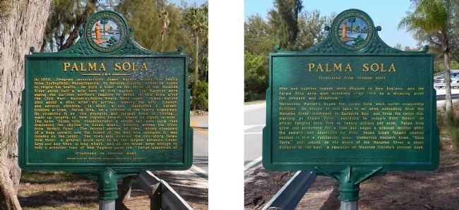 Palma Sola Marker image. Click for full size.