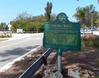 Wide view of the Palma Sola Marker image. Click for full size.