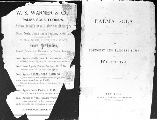 Palma Sola: the youngest and largest town in Florida image. Click for full size.