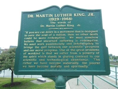 Dr. Martin Luther King, Jr. Marker image. Click for full size.