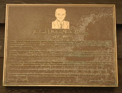 The Frank J. Portman Memorial Diorama Marker image. Click for full size.