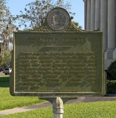DeSoto County Marker image. Click for full size.