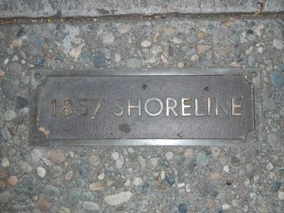 Federal Street Shoreline plaque image. Click for full size.