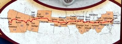 Route of Lincoln Highway image. Click for full size.