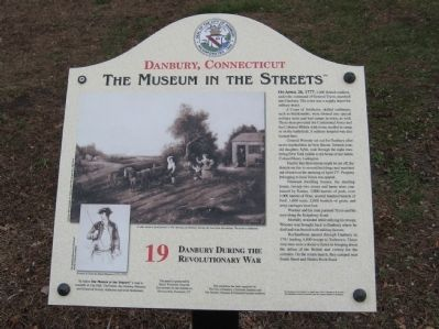 Danbury During the Revolutionary War Marker image. Click for full size.