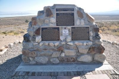 Mono Lake Markers image. Click for full size.