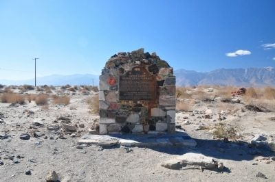 Owens Lake Silver-Lead Furnace Marker image. Click for full size.