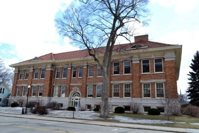 Old Goshen High School (North Elevation) image. Click for full size.