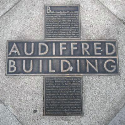 Audiffred Building Marker image. Click for full size.