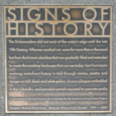 Signs of History Marker image. Click for full size.