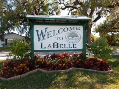 Welcome to LaBelle image. Click for full size.