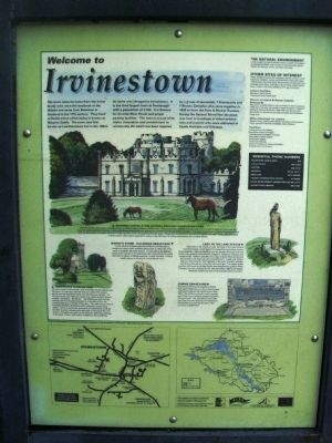 Welcome to Irvinestown Marker image. Click for full size.