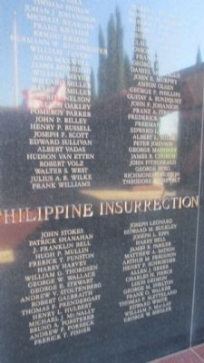 Philippine Insurrection Panel image. Click for full size.