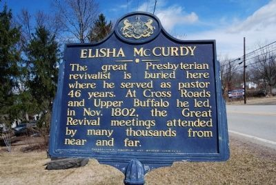 Elisha McCurdy Marker image. Click for full size.