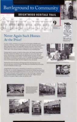 Never Again Such Homes At the Price! Marker image. Click for full size.