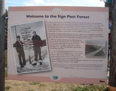 Welcome to the Sign Post Forest Marker image. Click for full size.