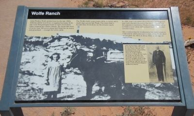 Wolfe Ranch Marker image. Click for full size.