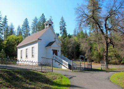 Sacred Heart Catholic Church, Dobbins (Built 1897) image. Click for full size.