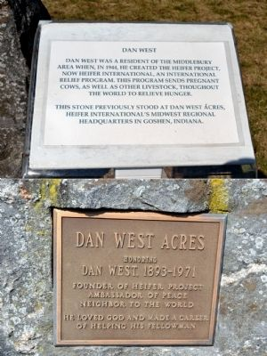 Dan West Marker image. Click for full size.