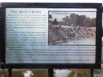 The Iron Cross Marker image. Click for full size.