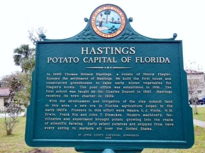 Hastings Marker image. Click for full size.