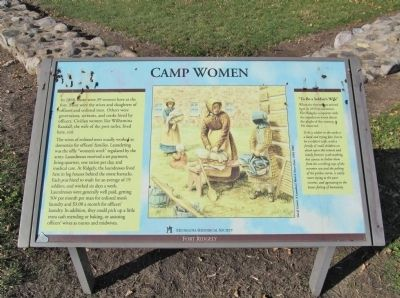 Camp Women Marker image. Click for full size.