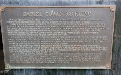 Daniel Cowan Jackling Marker image. Click for full size.