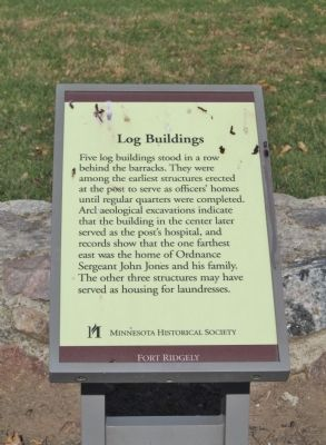 Log Buildings Marker image. Click for full size.