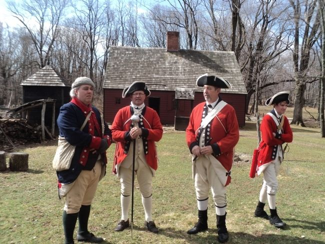 Revoluionary War Soldiers on the Wick Farm image. Click for full size.