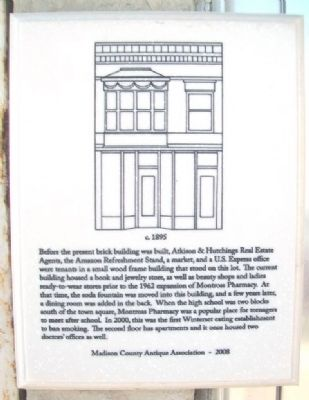 118 North 1st Avenue Marker image. Click for full size.