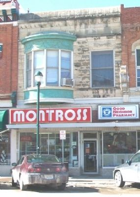 118 North 1st Avenue and Marker image. Click for full size.