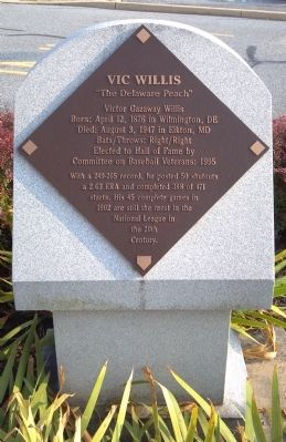 Vic Willis Marker image. Click for full size.
