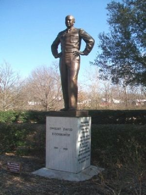 Dwight David Eisenhower Monument image. Click for full size.