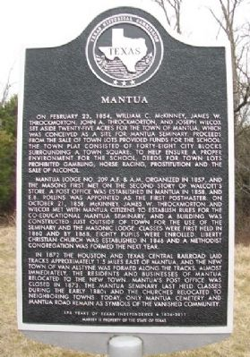 Mantua Marker image. Click for full size.