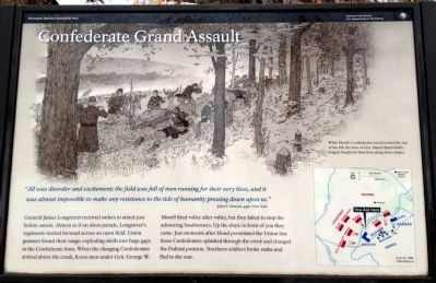 Confederate Grand Assault Marker image. Click for full size.