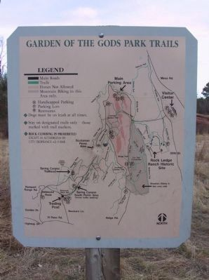 Garden of the Gods Park Trails [North] image. Click for full size.