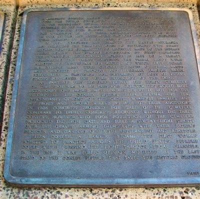 The History of the Wyandot Indian Nation Tablet 9 image. Click for full size.
