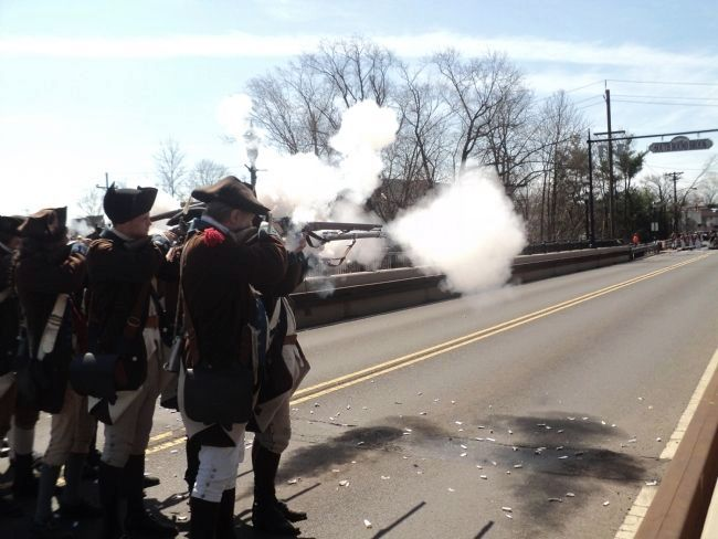Battle of Bound Brook image. Click for full size.