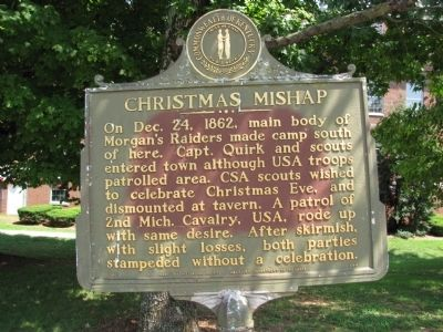 Christmas Mishap Marker image. Click for full size.