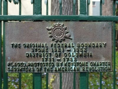 Original Federal Boundary Stone SW 5 Marker image. Click for full size.