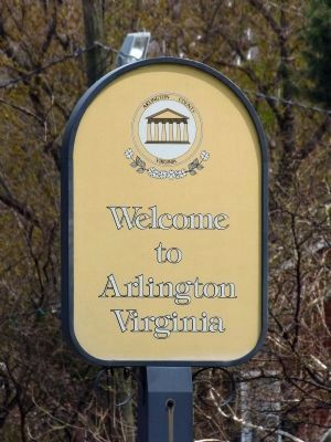 Welcome to Arlington County image. Click for full size.