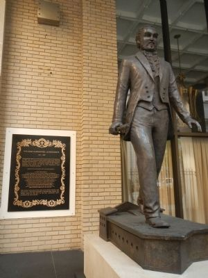 William Alexander Leidesdorff Marker and Statue image. Click for full size.