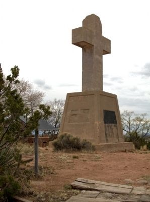 Cross of the Martyrs and Marker image. Click for full size.