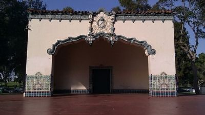 Recreation Park Bandshell (front) image. Click for full size.