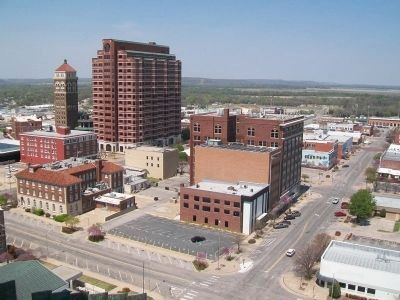 Downtown Bartlesville from the Price Tower image. Click for full size.