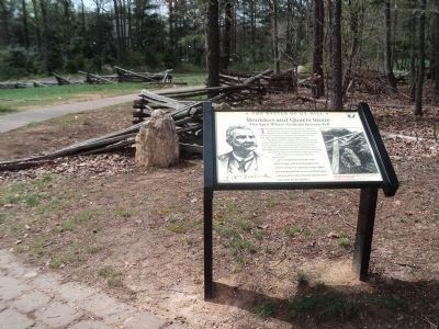 Marker on the Battle of Ox Hill Battlefield image. Click for full size.
